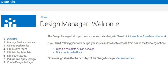Design Manager In SharePoint Tony Phillips - Sharepoint design manager
