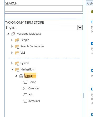 Term Set Example SharePoint 2013