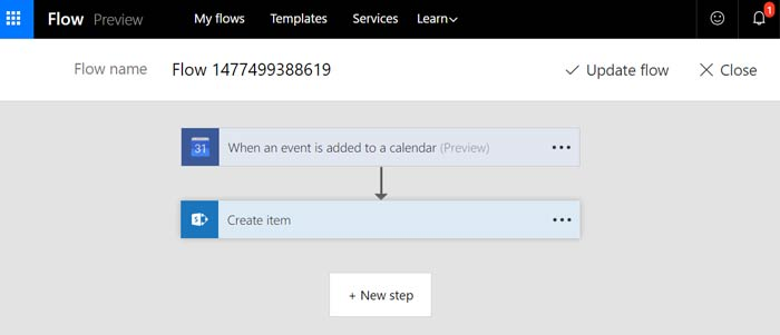 Google Calendar to SharePoint