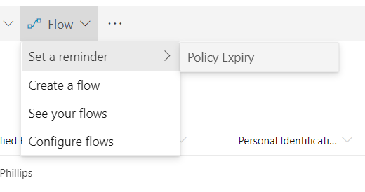 Power Automate and Flow reminder template