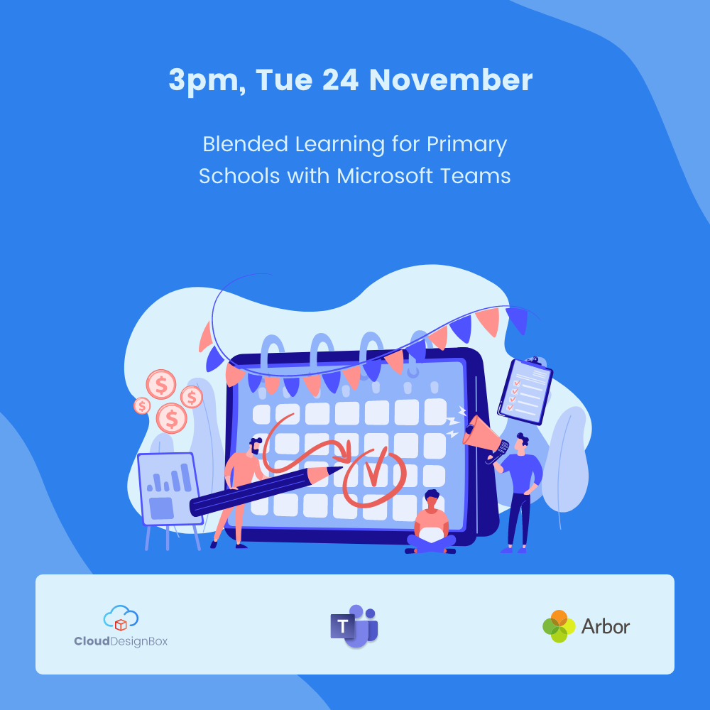 Blended Learning for Primary Schools with Microsoft Teams