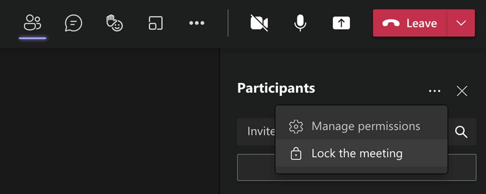 Lock class meetings